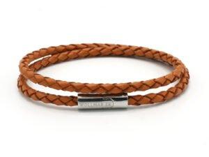 Leather Bracelet Light Brown